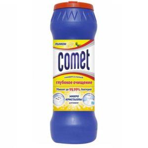 """Комет порошок чистящий """"Лимон"""" с хлоринолом Comet 475г"""