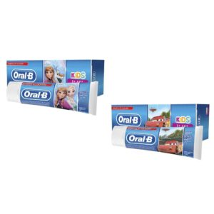 Орал Би паста Kids зубная Дисней Холодное Сердце/Тачки, Oral-B, от 3 лет 75 мл