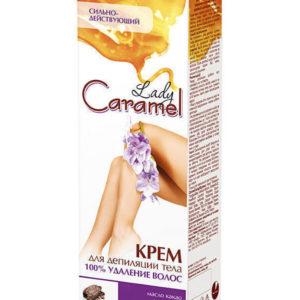 Крем для депиляции Карамель 100% - удаления волос, 100 мл