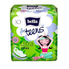 Белла Супертонкие прокладки Ultra relax for teens Bella, 10 шт