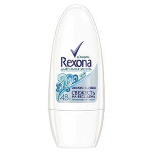 Rexona роликовый антиперспирант женский Свежесть душа  50 мл (Рексона)