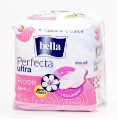 Белла rose гигиенические прокладки Перфекта Ультра 10 шт (Bella ultra perfecta)