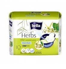Прокладки Белла гигиенические BELLA Herbs Tilia, Комфорт, 10шт