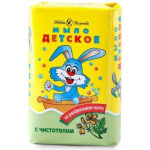 Мыло с чистотелом детское Невская косметика 90 гсметика 90 г