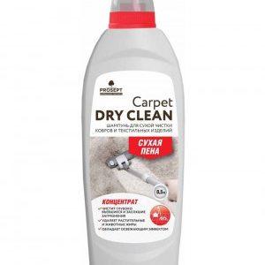 Просепт шампунь для сухой чистки ковров и текстильных изделий Prosept Carpet DryClean, концентрат, 500 мл.