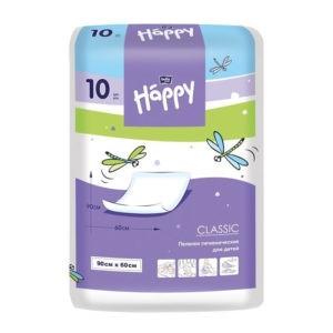 Белла одноразовые пеленки для детей (Bella Happy Classic) 90х60 см 10 шт