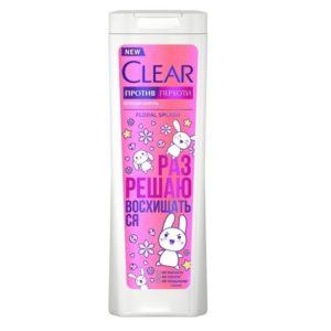 Клир женский шампунь Floral Splash Clear 380 мл