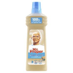 Пропер для стен и полов моющая жидкость с ароматом натурального мыла, Mr.Proper 750 мл.