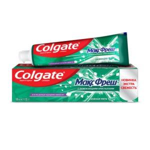 Колгейт maxi fresh green зубная паста Colgate 100 мл