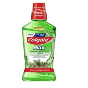 """Колгейт Plax ополаскиватель для полости рта """"Кора дуба и Пихта"""" Colgate 500 мл"""