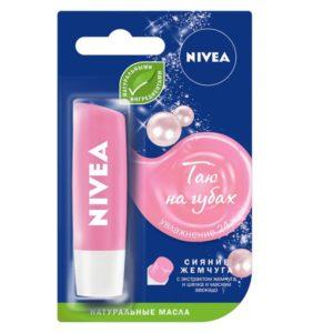 Нивея для губ бальзам Nivea 4,8 гр в ассортименте