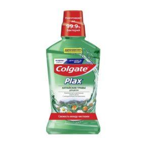"""Ополаскиватель Колгейт для полости рта """"Plax Алтайские травы для десен"""", Colgate 500"""