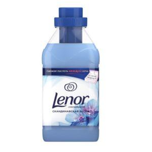 Ленор кондиционер концентрированный для белья, Скандинавская весна, Lenor 500мл.