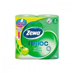 Туалетная бумага Зева (Zewa) 2х слойная (в ассортименте)
