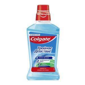 Ополаскиватель Тройное действие Колгейт для полости рта Colgate 500 мл