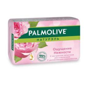 Палмолив туалетное мыло Ощущение Нежности лепестки роз Palmolive 90 г