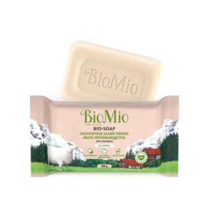 """BioMio хозяйственное мыло-пятновыводитель """"Bio-Soap"""", Биомио без запаха, 200 г"""