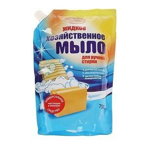 Вестар хозяйственное жидкое мыло для ручной стирки, дой-пак VESTAR 750 мл