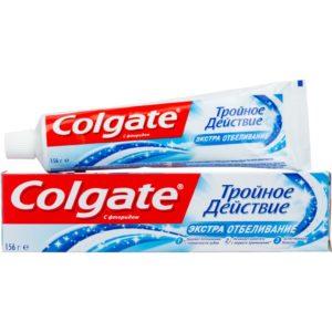 Colgate Экстра Отбеливание зубная паста «Тройное действие», 100 мл