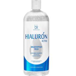 Белкосмекс мицеллярная вода Hialuron Active увлажнение, удаление макияжа Belkosmex 500 мл