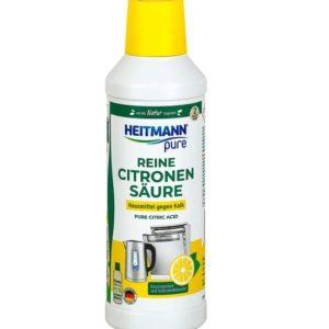 Хейтман антинакипин Чистящее средство с лимонной кислотой для чайников, кофемашин HEITMANN 500 мл