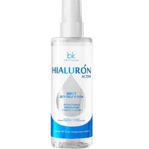 Белкосмекс мист для лица и тела Hialuron Active гладкость кожи Belkosmex 200 мл