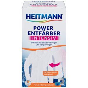 Хейтман отбеливатель для случайно окрашенных белых тканей,HEITMANN 250 гр