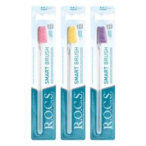 РОКС средняя Зубная щетка Классическая, R.O.C.S.