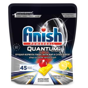 Финиш капсулы для посудомоечных машин лимон Finish ultimate дойпак 30 шт