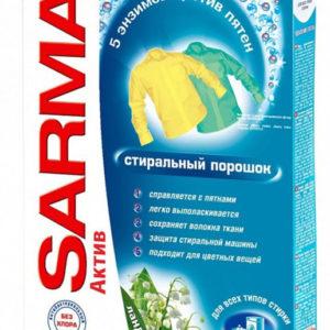 Sarma Актив Стиральный порошок для всех типов стирки Ландыш (Сарма) 400 г
