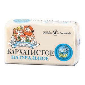 Невская Косметика Мыло натуральное Бархатистое 140 г