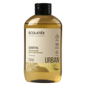 Ecolatier Шампунь Питательный для сухих волос Авокадо и мальва 600 мл